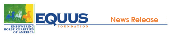 Click Here to Learn More About The EQUUS Foundation