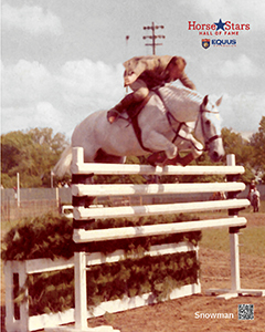 2015 Horse Stars Hall of Fame Inductee Snowman