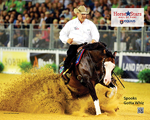 2015 Horse Stars Hall of Fame Inductee Spooks Gotta Whiz