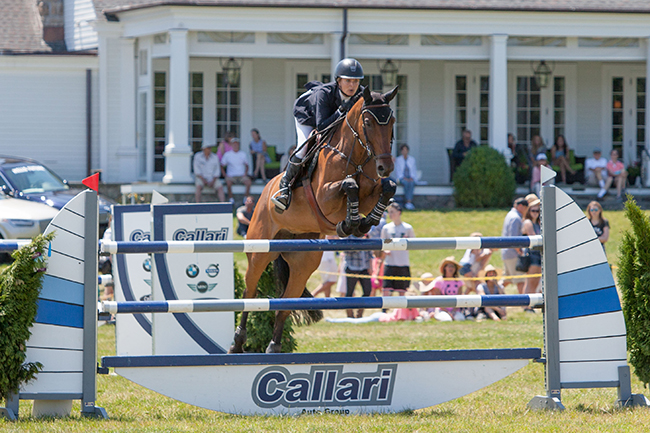 Cassie Orpen and Djoanna at 2016 Fairfield Grand Prix