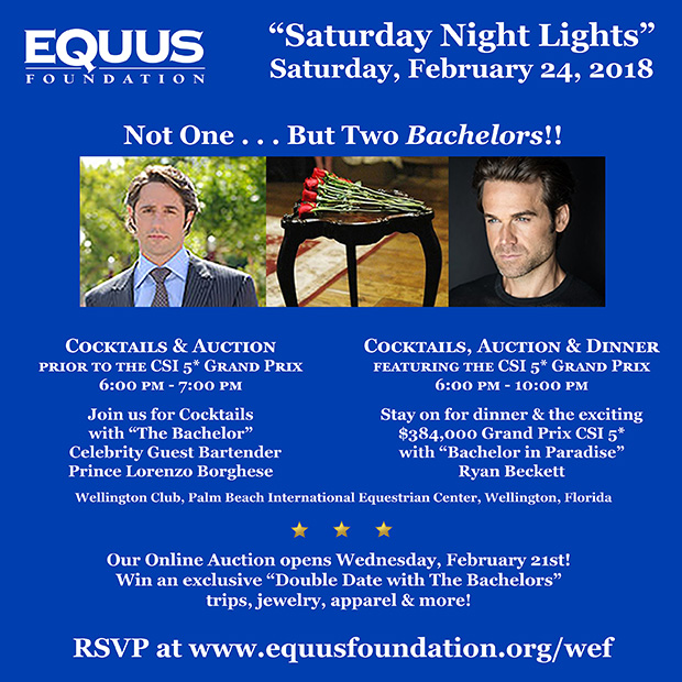 EQUUS Foundation The Bachelors