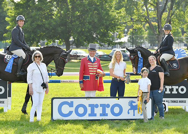 EQUUS Foundation Charity Team Challenge presented by Corro at the Fairfield June Horse Show
