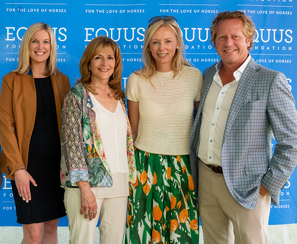 EQUUS Foundation Champagne & Cupcakes hosted by Cindy Raney & Co. at the Fairfield June Horse Show