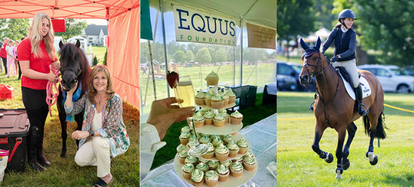 EQUUS Foundation Celebrates Show Jumping with Champagne, Cupcakes & Mini Horses at the Fairfield June Horse Show