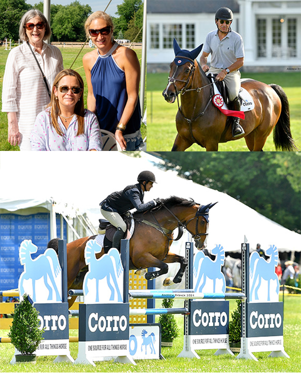 Guests at EQUUS Foundation Charity Team Challenge presented by Corro and Champagne & Cupcakes hosted by Cindy Raney & Co. at the Fairfield June Horse Show